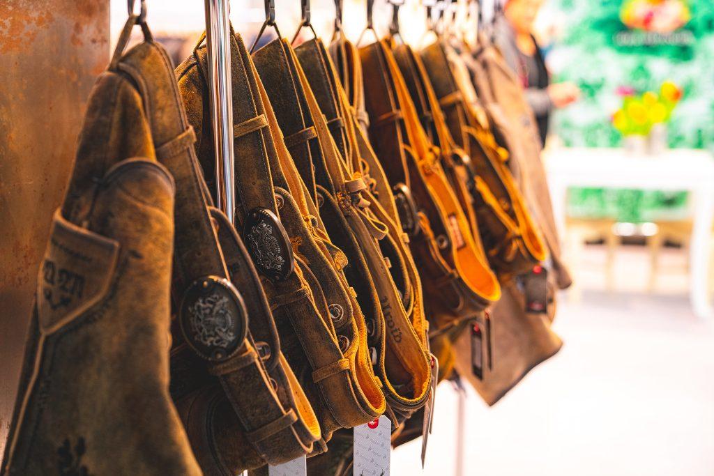 Lederhosen auf der Tracht & Country